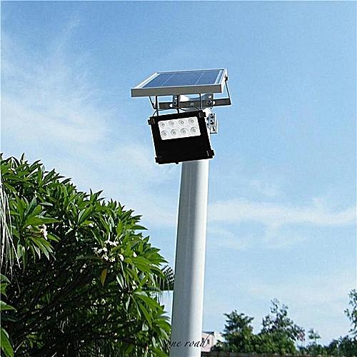 8 Led Solar Light Outdoor Lamp Security Floodlight White Light Ip65 Waterproof