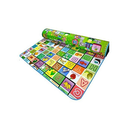 Baby Kids Matress- Crib Colt Pad Bed Foam- Colour/Design Patterns Varies-( 1 Piece)