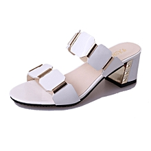 Bliccol High Heel Shoes Women Fish Mouth Slipper High Heels Sandals  Antiskid Toes Party Shoes Flip e9c4b1b171d7