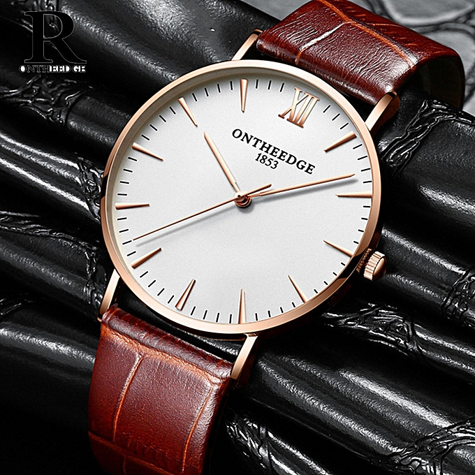 boys analog belt leather watch white dial strap watches wch dp for matrix wrist brown mens casual