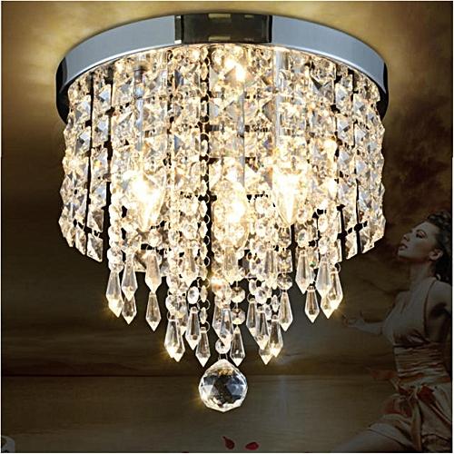 Generic Elegant Chandelier Crystal Lamp Light Ceiling