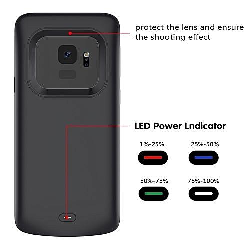 meet 93ccd 19732 Samsung Galaxy S9 Battery Case, Ultra Slim 4700mAh Rechargeable Portable  External Battery Charger