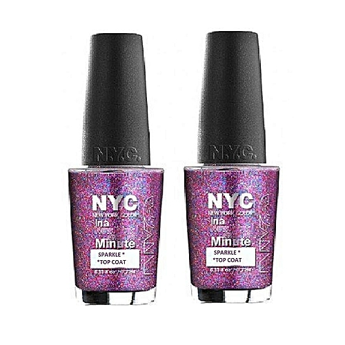 NYC In A Minute Sparkle Top Coat - Big City Dazzle | Jumia NG