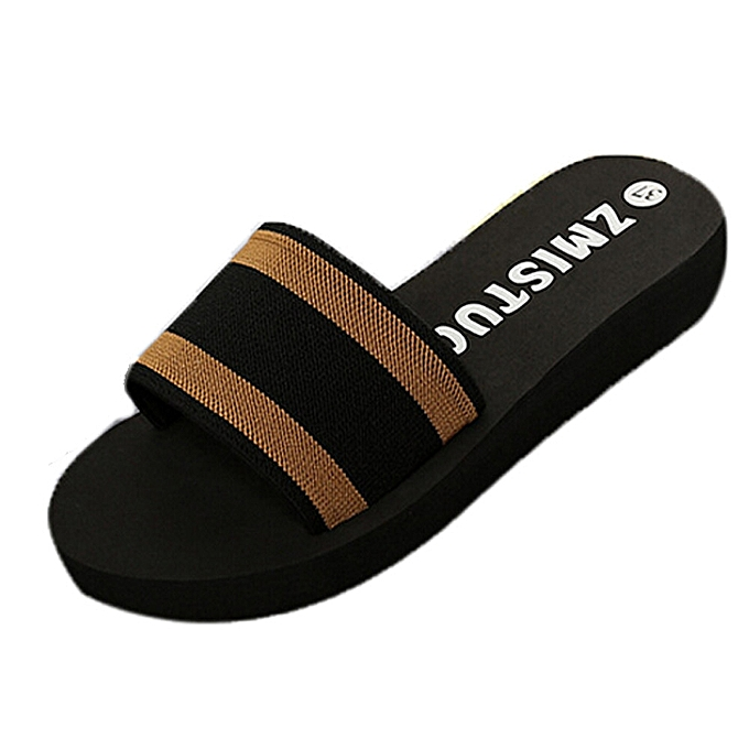 777255bd77253d ... Blicool Shop Shoes Summer Women Shoes Platform Bath Slippers Wedge  Beach Flip Flops Slippers Shoes-