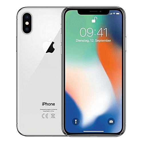 IPhone X 64GB ROM 5.8 Inch IOS 11.0 M11 64-bit 12MP 4G Smartphone(White)