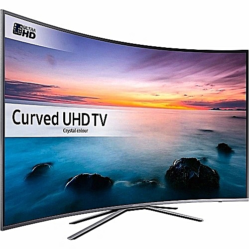 UHD 55Inch 4K CURVED SMART TV - 2019 New With Free Wall Bracket