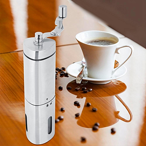 Stainless Steel Triangle Shape Manual Coffee Bean Grains Nuts Grinder