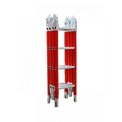 Fiberglass Multi Purpose Ladder - Non-Conductive Ladder 4x7