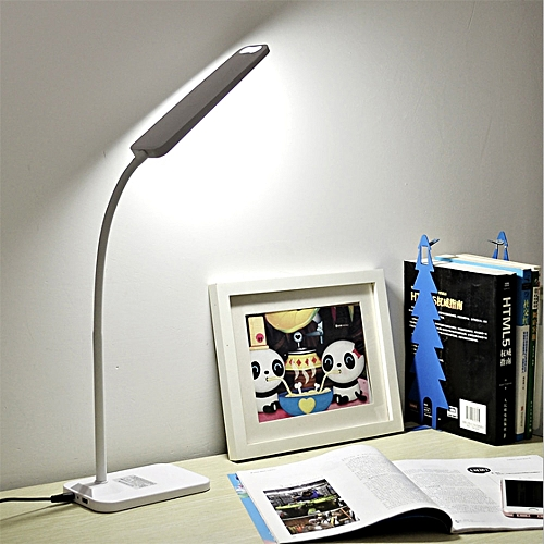 BRELONG LED Table Lamp Dimming Study Reading Lamp USB Output Charging Desk Lamp For Study Night Light Eye Protection