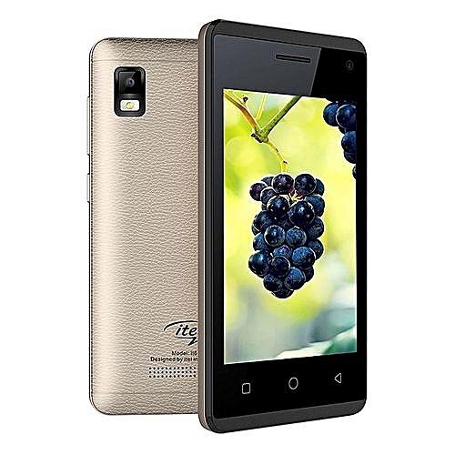It 6910- Dual Sim, Java Touch Screen, Camera With Flash, Fm Radio,  Bluetooth,dual Sim , 4 Inch Display, Champagne Gold