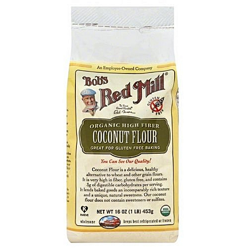 High Fiber Coconut Flour, 453g