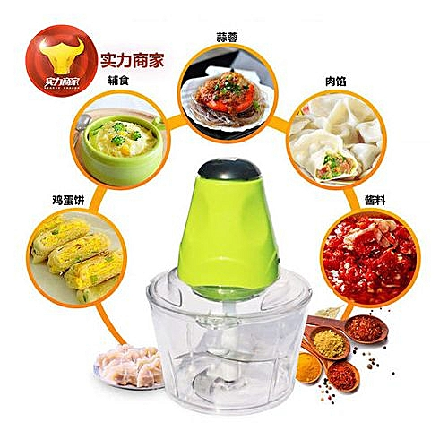 2Litres 4Blades Electric Yam Pounder, And Food Processor