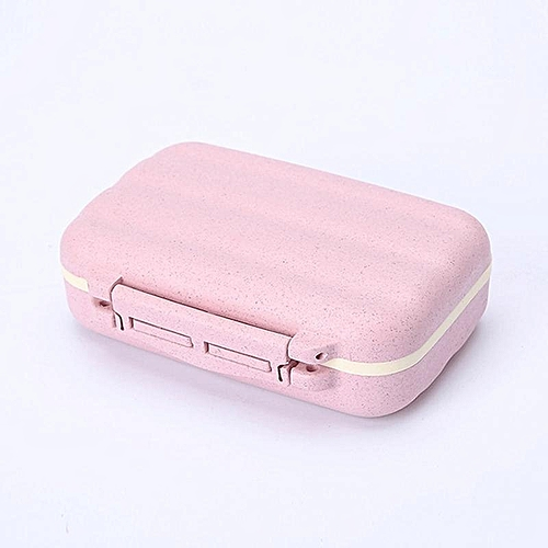 Travel Medicine Tablets Pill Box Jewelry Supplies Storage Case Container 1PC