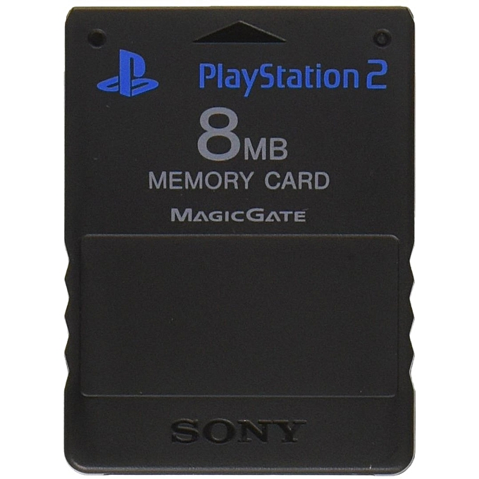 e05e5d31e8d Sony Magic Gate PS2 8MB Memory Card For Official PlayStation 2 ...