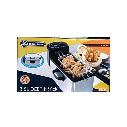 Twin Professional Stainless Steel Deep Fryer