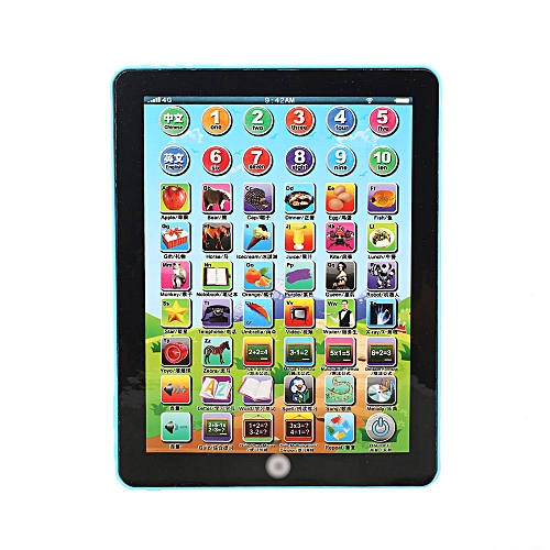 Tablet Toy Learning Machine Educational Touch Type Early Education Computer Sound Music