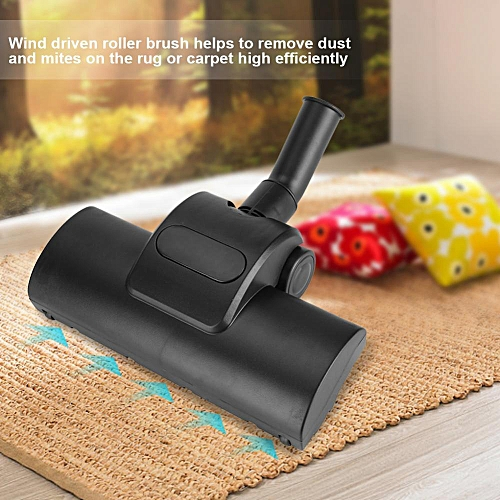 32mm Vacuum Cleaner Turbo Parts Wind Driven Floor Brush For Cleaning Rug Or Carpet