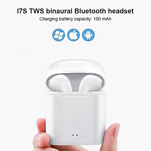 Bluetooth Earphone Charging Box Noise Reduction Sport Wireless Bluetooth Headphone In Ear Music Portable V4.2 Stereo For IPhone