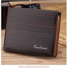 8a78b29b5f1 Executive Men  039 s Wallet With Multiple Card Slots- Dark-Brown