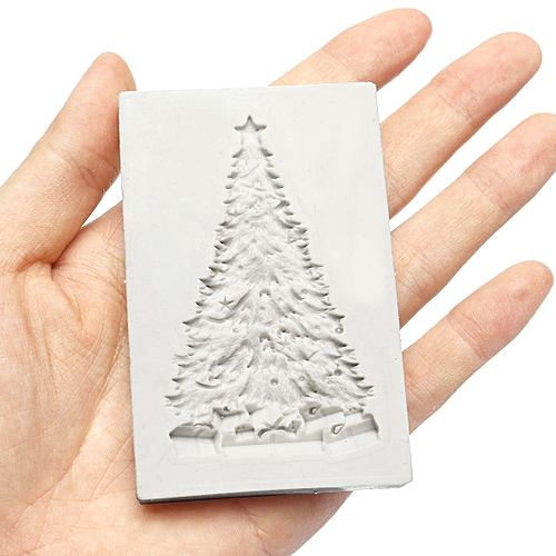 Christmas Tree Baking Mold Silicone Cake Fondant Sugarcraft Mould Chocolate Tool