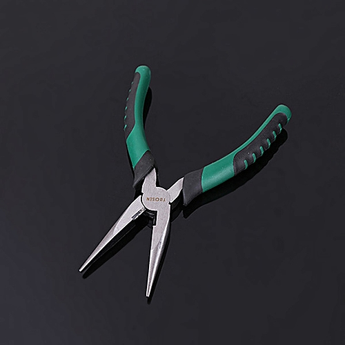 Manual Needle Nose Pliers Hardware Tool - Green A
