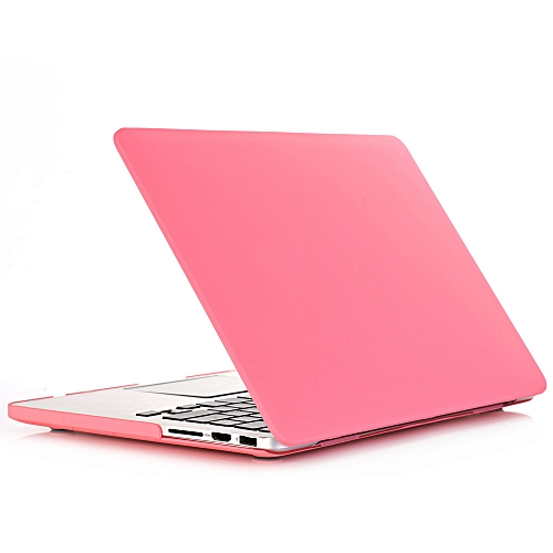 New Cream Apple Notebook Protective Shell Multi-model Specifications Apple 11 Inch 12 Inch 13inch 15 Pink