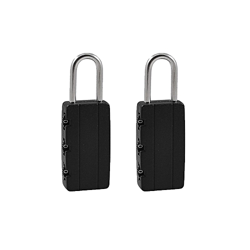 Combination Padlocks - 3 Pieces