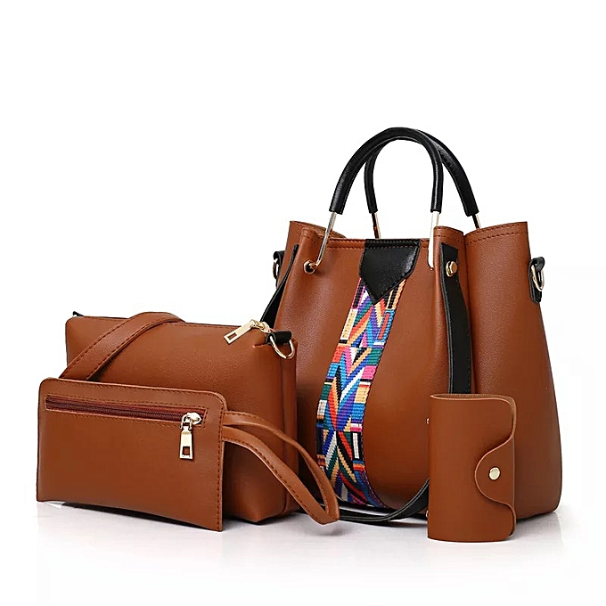Fashion Women 4set -Brown Bag