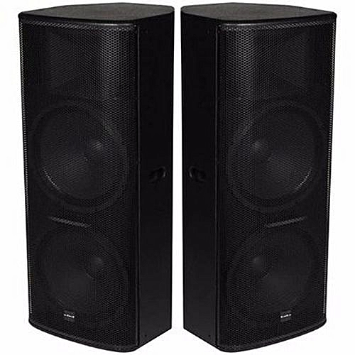 TT-55 Dual 15'' Full Range Loud Speakers - 2 Pieces