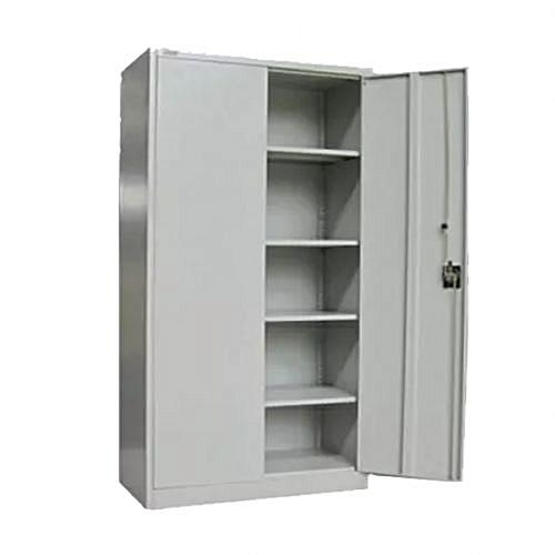 Full Height Swinging Door Cupboard File Cabinet & Book Shelf