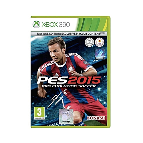 Pro Evolution Soccer 2015 - Xbox 360 PAL