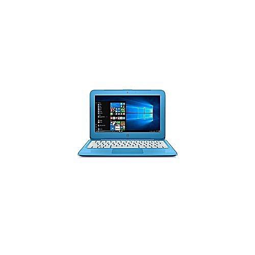 "HP STREAM 11 INTEL CELERON DUAL N3600 1.6GHz 32GB EMMC 4GB RAM 11.6"" DISPLAY BLUETOOTH WEBCAM COLOUR AQUA BLUE MOUSE."