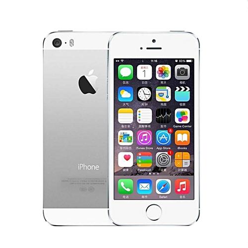 IPhone 5S - 16GB+1GB -8 MP- 4 Inch -Fingerprint Unlock Refurbished Smart Phone