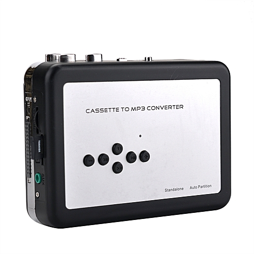 Cassette To MP3 Converter Audio Music Player Save In USB Flash Driver