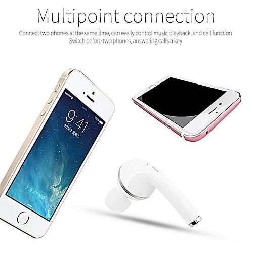 A1 HandsFree Mini Wireless Bluetooth Headset Stereo In-ear Headphone