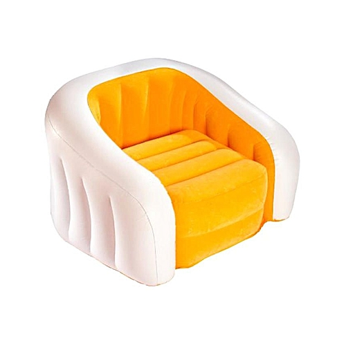 Inflatable Lounge Chair For Kids- Orange