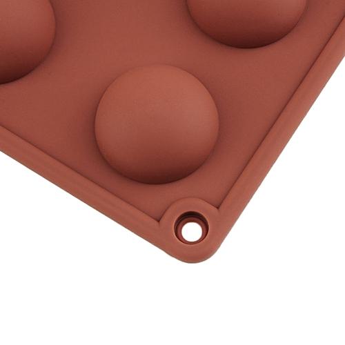Professional 24 Hole Round Ball Shape Chocolate Mold Silicone Cake Mold