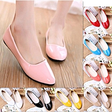 4fd2af94f Women Lady Patent Pointed Toe Dolly Ballet Ballerina Casual Flats Pumps  Shoes