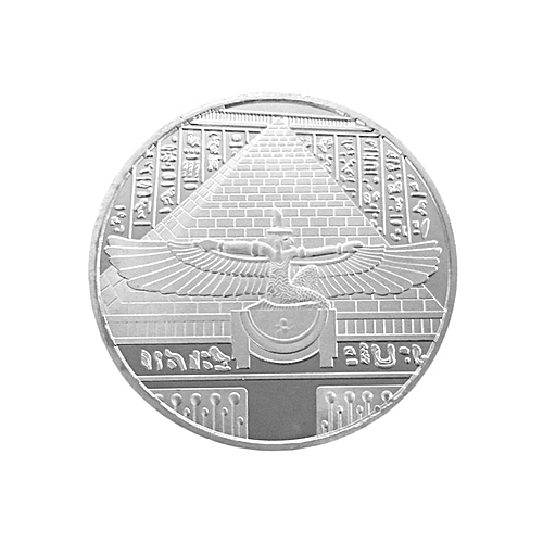 Home-Metal Egypt NEFERTITI King Collection Art Commemorative Coin Best Gift Silver
