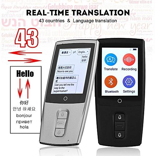 Smart Portable Translator Real Time Instant Voice Translation Support 43 Languages