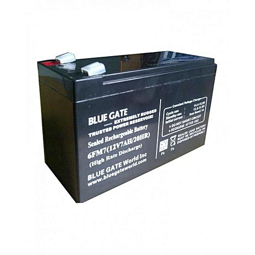 UPS AND RECHARGEABLE FAN REPLACEMENT BATTERY - 12V7AH