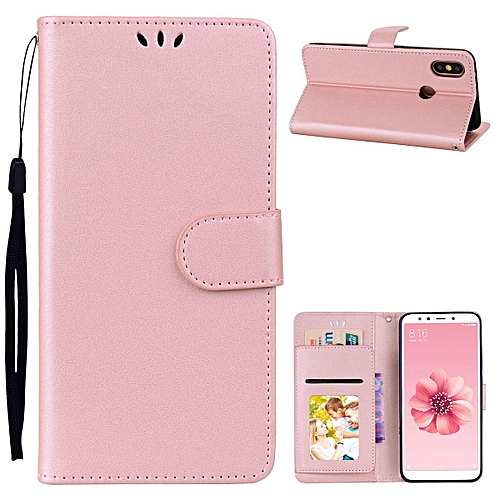 reputable site c5115 1a1b6 Redmi Note 5 Pro Case,PU Leather Wallet Case With Photo Frame Card Slots  Magnetic Protective Cover For Xiaomi Redmi Note 5 Pro 5.99