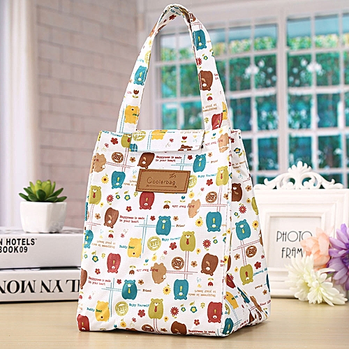 Thermal Portable Insulated Cooler Bag Lunch Picnic Carry Tote Storage Case Box