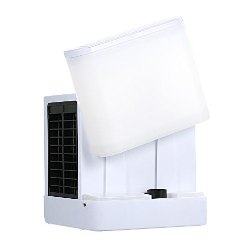 Personal Space Air Cooler Portable Air Conditioner Fan Mini Desk Cooling Fan USB Evaporative Air Cooler