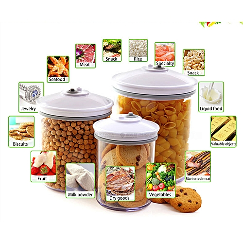 SALE Vacuum Moisture-proof Fresh-keeping Sealed Round Cans
