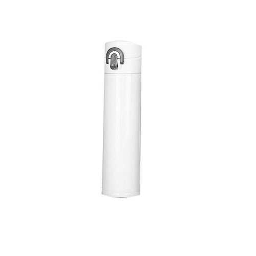400ML Vacuum Cup Stainless Steel Water Bottle Insulation Warming Keep Pot White