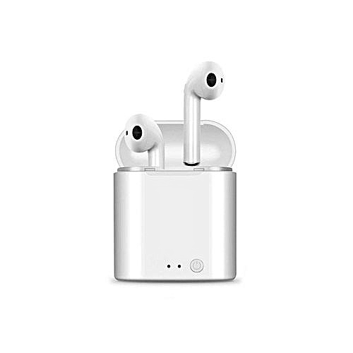 Wireless Bluetooth Earphone Stereo Earbud Headset Ear Air Pods With Charging Box Mic For All Phone