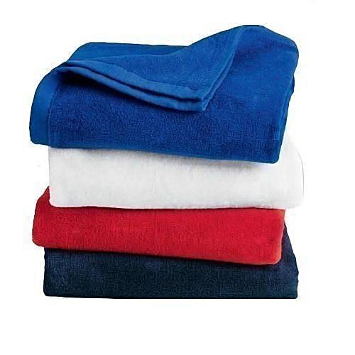 4 Pieces Of Bath Towel Set-Multicolour