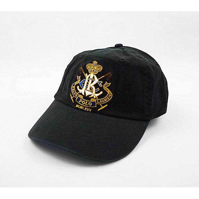 53828671535 Fashion Vintage Polo RL Club Men s Baseball Golf Sport Hat Cap Black ...
