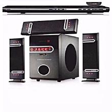Multimedia Speaker System With Bluetooth (DJ-D3L) + DVD for sale  Nigeria